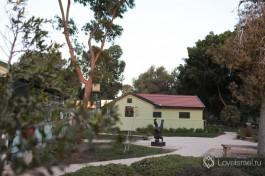 Территория комплекса дома Давида Бен-Гуриона.
