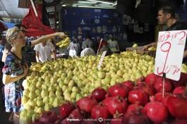 Рынок Кармель в Тель-Авиве - приятного аппетита!