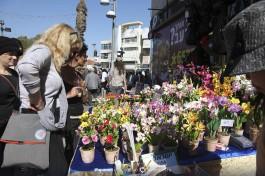 Ярмарка художников Нахалат Беньямин в Тель-Авиве.