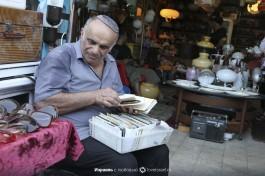 На блошином рынке в Яффо.