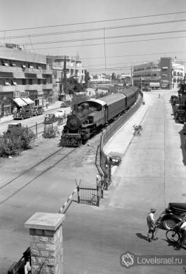 Железная дорога в Иерусалим.