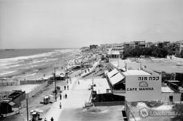Тель-Авивский пляж.  История Израиля.