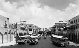 так выглядела улица Алленби в середине XX в