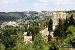 Горненский женский православный монастырь, в городе Иерусалим. Фото - Игорь Гершензон.