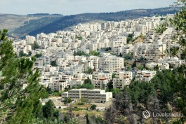 Город Иерусалим – вид на город. Фото - Игорь Гершензон.