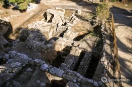 Раскопки дома Кайафы.