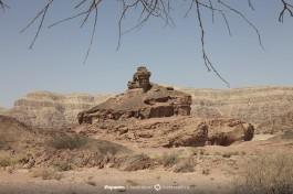 Парк Тимна, недалеко от Эйлата. Причудливой формы каменные формации.