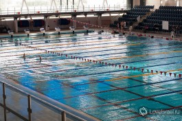 Олимпийский бассейн института.