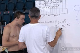 Тренировки будущих олимпийский спортсменов.