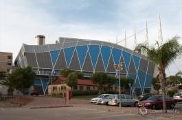Здание олимпийского бассейна, институт им. Вингейта.