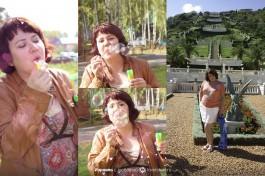 Люблю проводить свободное время на природе, устраивая праздники для детей + Первый раз в Бахайских садах.