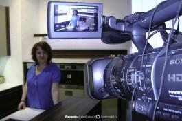 Любимая работа на телевидении, только там я чувствую себя полностью само реализованной.