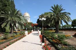 Бахайские сады в Хайфе насчитывают 18 терасс.