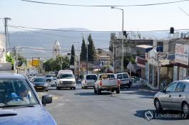 Улица в друзской деревне Мрар.