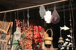Базар друзских национальных изделий на рынке в друзском городе Далият-эль-Каемэль, около Хайфы.