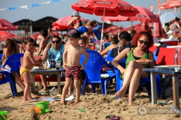 Пляж Камэль в гророде Хайфе. Очень весело там иногда )