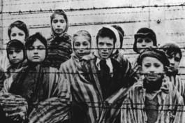 Холокост. Дети - узники концлагерей.