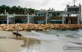Серферы в Израиле. Зимой здесь раздолье! )