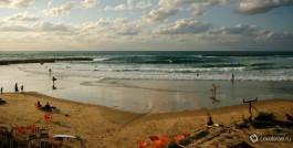 Серфинг в Израиле. Красивые пляжы, приветливые люди.