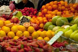 Обязательно посетите рынок Кармэль в Тель-Авиве. И посетив, поймете почему :)