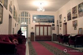 Гостиная в доме Матушки Георгии в Горненском монастыре.