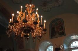 Внутри Храма Казанской иконы Божией Матери.