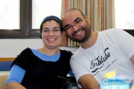 Мои одноклассники: счастливые репатрианты из Бразилии Джулианна  и Шмулик )