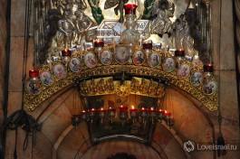 Вход в гроб Господень.
