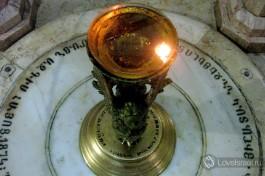Место, с которого, по преданию, Дева Мария наблюдала за распятием.
