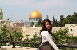 Побывала в Израиле Катя Сычева.