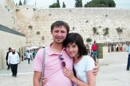 Побывала в Израиле Александра Семенова. Иерусалим, Стена Плача.