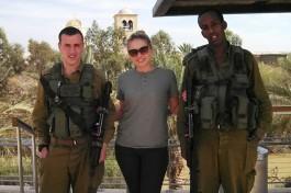 Побывала в Израиле Екатерина Цукаленко. Солдаты Армии Обороны Израиля.