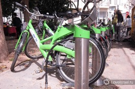 Взять велосипед в прокат в Тель-Авиве можно в любом районе