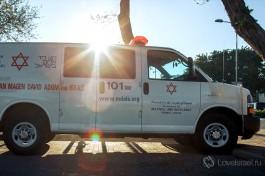 Маген Давид Адом - израильская организация скорой помощи. Больницы Израиля