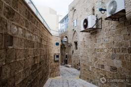 Старый город Яффо построен из местного песчаника.