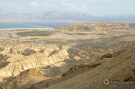 Вид на Мертвое море в Израиле. Дух захватывает.