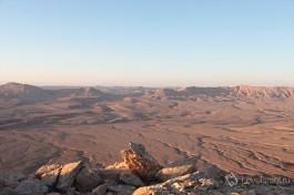 Махтеш (кратер) Рамон. Находится в пустыне Негев, Израиль.