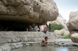 Вода в заповедники Эйн Геди, очень освежает :)