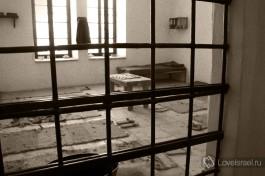 Одна из камер, где сидели узники из организации