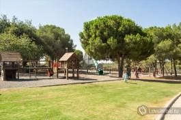 Детская площадка около парка Рамат ха-Надив. Замечательный отдых для всей семьи!