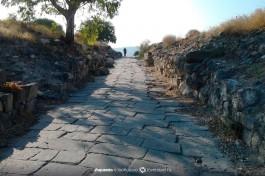 Раскопки города Кардо Максимус - римский город Сусита.