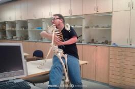 Так выглядит учебный класс кафедры археологии Хайфского университета.