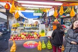 На тель-авивском рынке Кармель.